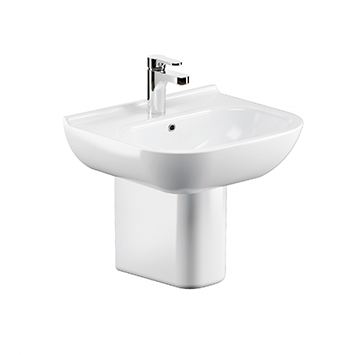 Elimen wall-mounted washbasin - Code LPA10128
